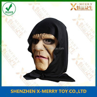 X-MERRY BRAND NEW Evil Witch Fairy Tale Hag Old Woman DELUXE ADULT LATEX Foam WITCH MASK
