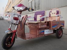 Electric auto rickshaw with 3 wheel for passenger made in china