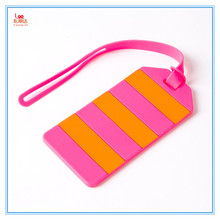 Wrinting letters avaliable silicone luggage tags baggage tag label bag tag label