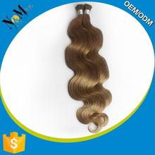 Ameirican's choice extension white Silky Straight Wave blond 100 keratin tipped human hair extension
