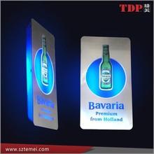 Manufacturer supplies elegant acrylic led sign