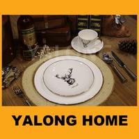 Cheap White Porcelain Dinner Plates for Restaurant