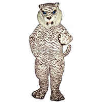 Blue Eyed White Tiger Costume ,cartoon mascot costumes ,inflatable fat costume,cartoon character mascot costumes,giant costume