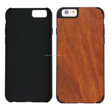 Natural Rose Wood Mobile Phone Case For Iphone 6