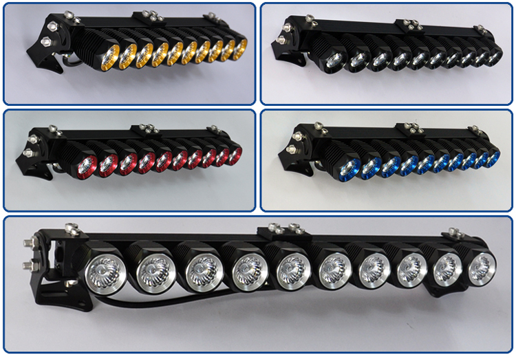 CE Rohs DIY LED light bar single row 24