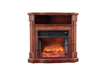 freestanding indoor electric fireplace