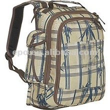 All-over printed double handles cute diaper bag