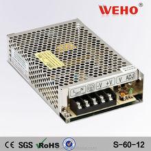 power led transformer cctv 60w 5a single output power supply