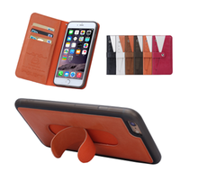 BRG New arrival 2 in 1Detachable Wallet Leather Case for iPhone 6 Plus with Smart Stand Holder, for 5.5 inch mobile phone case