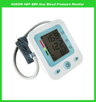 Portable blood pressure monitor mercury free