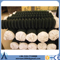 used 6 foot black pvc chain fence panels for sale factory