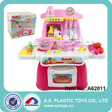 Happy cooking mother garden plastic kids kitchen set toy