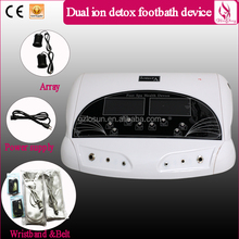 OEM ODM Protable Dual System Ion Detox Foot Spa Machine, Ionizer Detox Foot Spa Machine