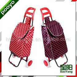 colorful fabric trolley bag promotional clear pvc wine cooler bag