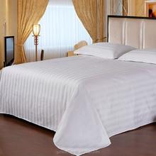 Wholesale TC200 Cotton 40S Hotel Bed Sheet