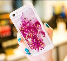 Best selling 2015 Glitter Liquid Phone Case for iphone 6 plus,Quicksand star for phone case iphone6 apple I phone 6 plus
