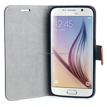 Mobile Phone PU Leather TPU Case for Samsung Galaxy S6