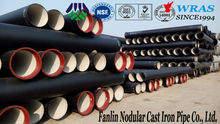 K9 DN 600 ductile iron pipe