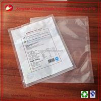 food grade three side heat sealing vacuum packaging bags