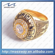 customized personality antique fashion diamond brass alloy ring