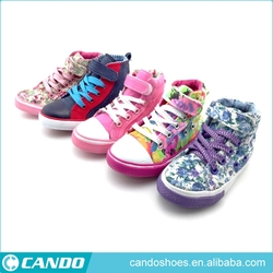 high cut happy baby happy feet shoes canvas footwear for girls