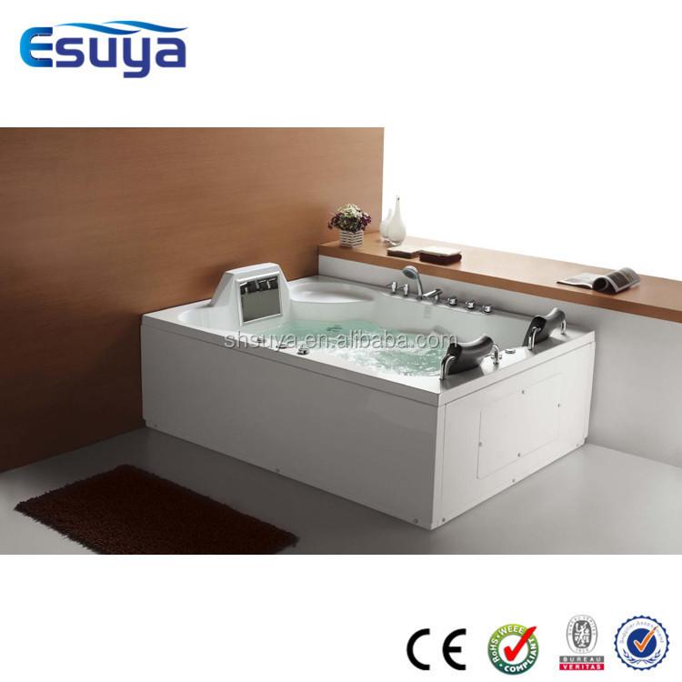 luxury whirlpool massage bathtub and bathtub heater portable
