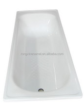 Enamel steel plate bath tub with varied size bathtub size