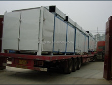 High efficiency industrial conveyor mesh belt dryer