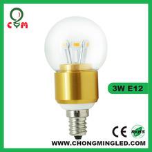 2500K global candelabra led bulb 3W 4W bulb led bulb light