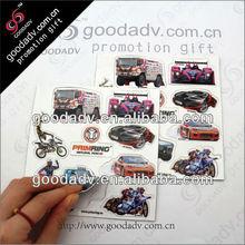 MOQ 1000pcs Full color printing puzzle refrigerator magnet