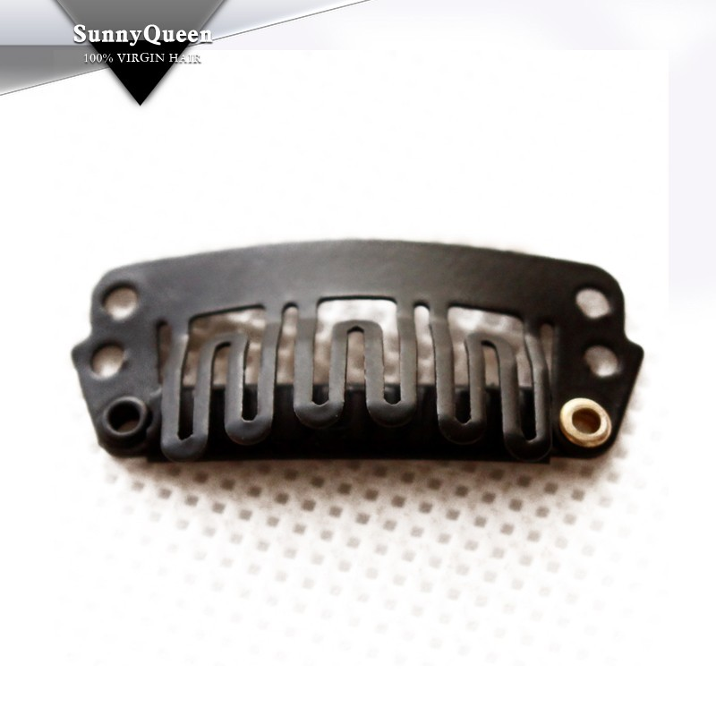 Hair Extension Snap Clips Clip in Hair Extensions