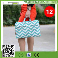 Newest style canvas bag pouch for Macbook 13.3'' CS-AV770(3)