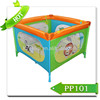 Europe/America Standard colorful large baby playpen bed