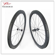 road carbon road bike wheels lightweight 50mm 25mm 700c, 20/24H, UD matte, DT350S Sapim spokes