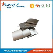 N35H Permanent DC Motor Magnet Segment Magnetized Pairs
