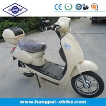2014 New moped electric scooter with outside gear motor and pedal assistant (HP-E60Plus)