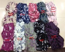 Women Butterfly Print Lady Soft Long Neck Large Scarf Wrap Shawl Pashmina Stole