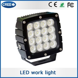 Most popular product china cheap cars 12v waterproof floor lights, 80w cree LED work light