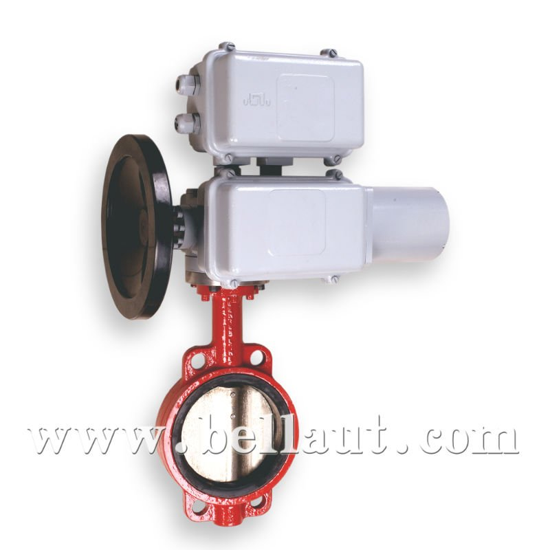 Motorized Butterfly Valve Stainless Steel Butterfly Valve