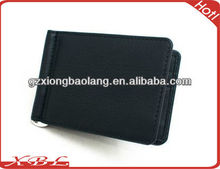 2013Man's Fashion Design Wallet with Classic Money Metal Clip