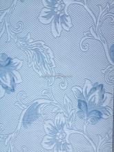 copy knitting 100%polyester(SPUN) woven jacquard mattress fabric /F1407-1/ blue