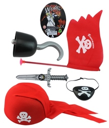 funny hat weapon set ABS creative pirate weapon toys with EN71