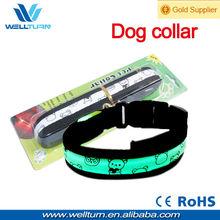 Promotional Gift Animal protection flashing LED dog Collar