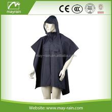 High quality 190T Polyester Rain Poncho