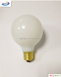 new led products water proof LED global lighting dimmable LED filament G95 globes lights bulb Opal glass