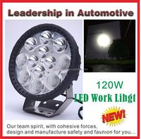 High Lumen 120w CREE off road 12v led tractor work light for construction trucks