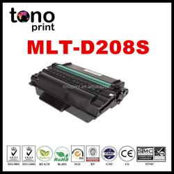 New compatible toner cartridge for Samsung MLT D208S MLT D208L black laser toner china factory price