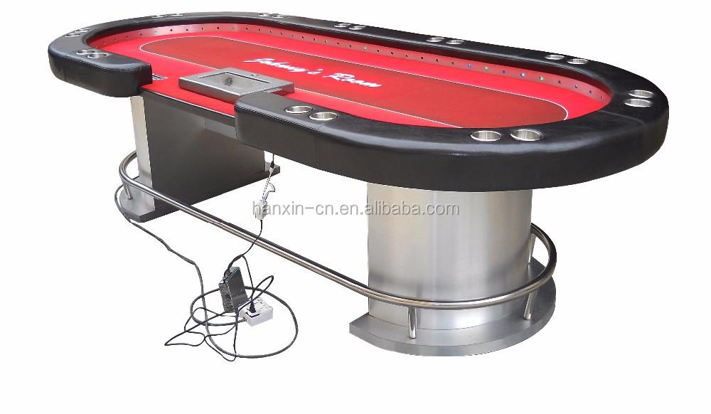 Custom Poker Table With Led Lights - Buy Poker Table Led ...
