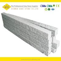 Cheap White granite edging curbing border stone