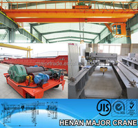 Steel plant approved double girder casting overhead crane